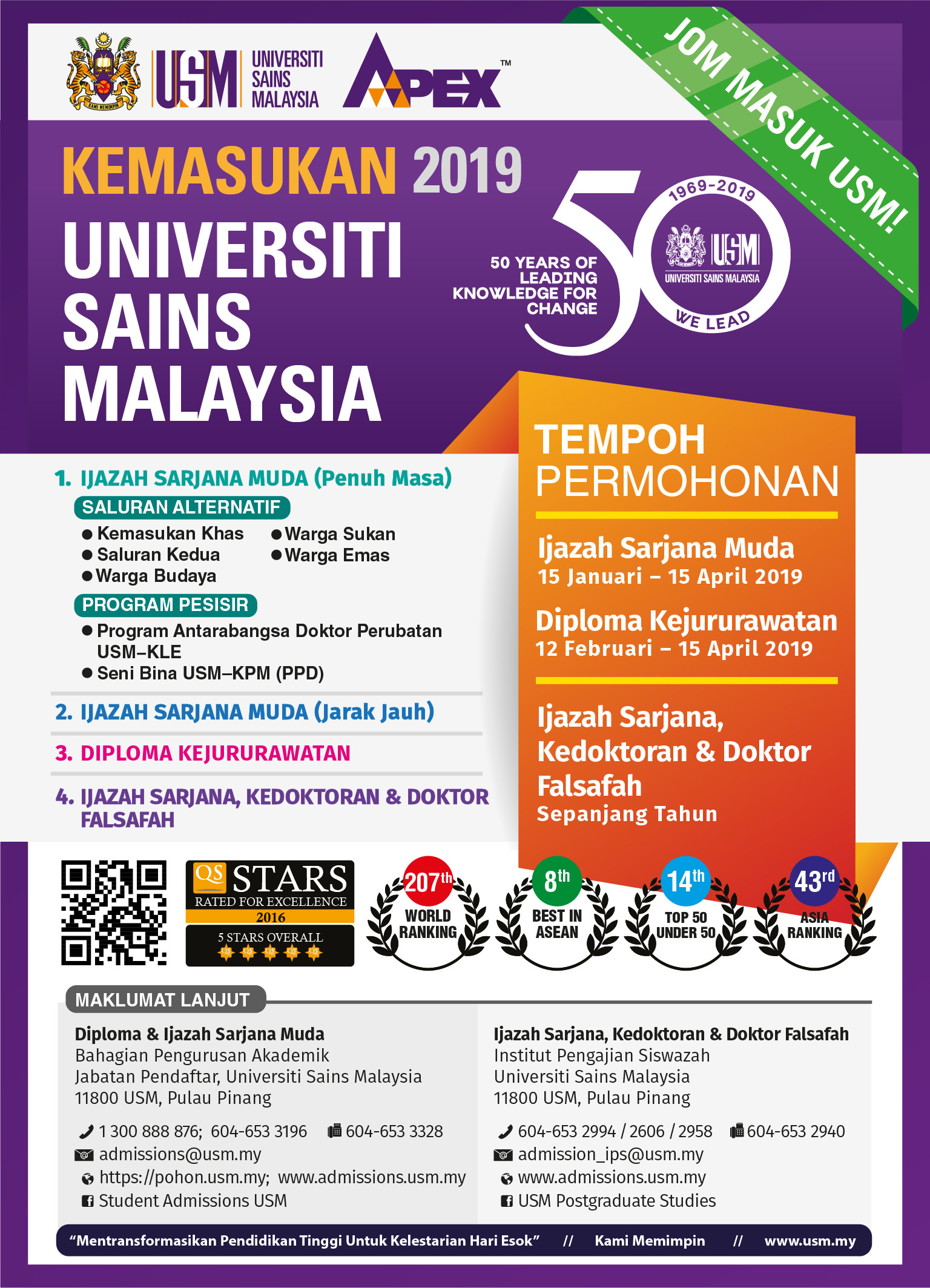 Permohonan Diploma Jururawat Usm Ambilan 2020 Online