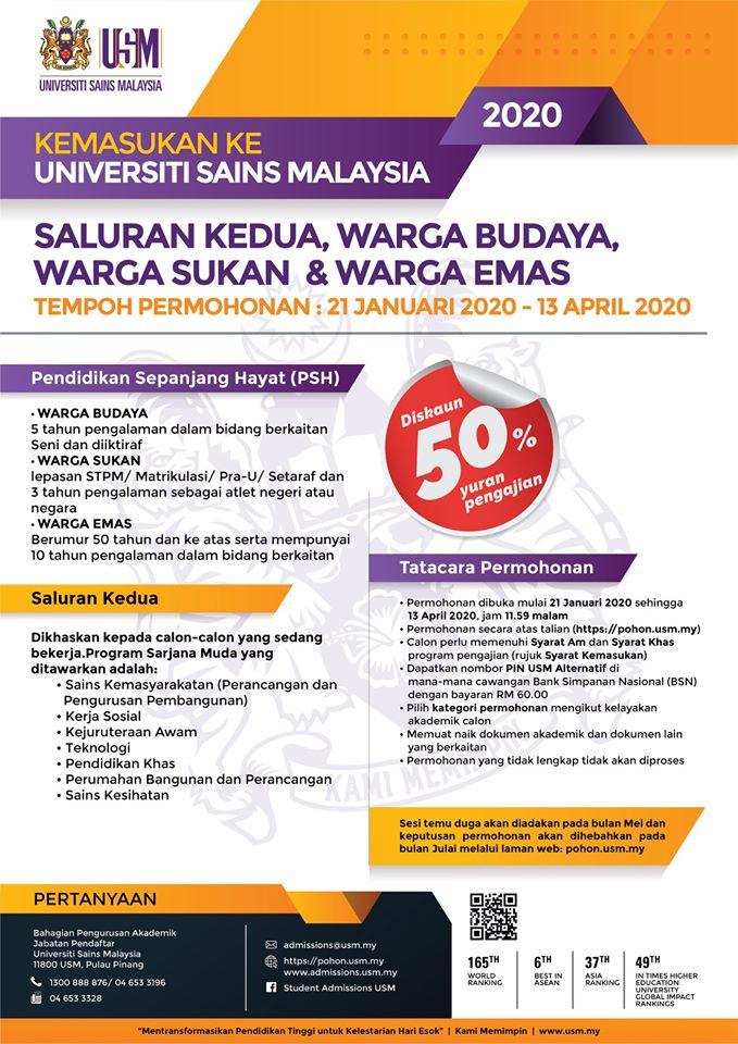 Unit Pengambilan Pelajar Bpa Universiti Sains Malaysia